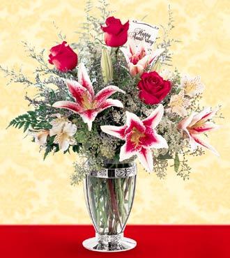 Flower delivery floral arrangement flower bouquet send fresh anniversary mightylinksfo